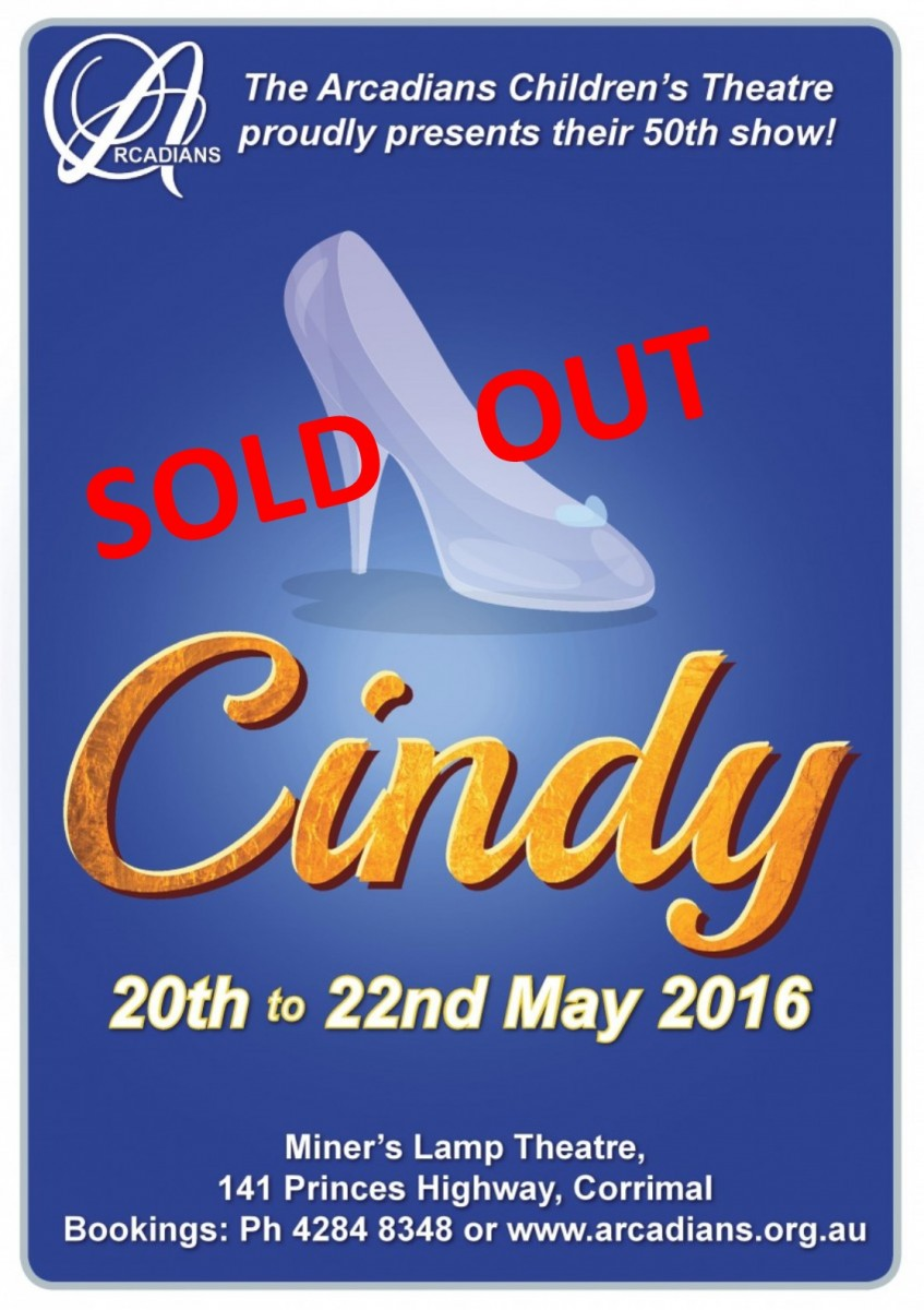 CINDY sold out