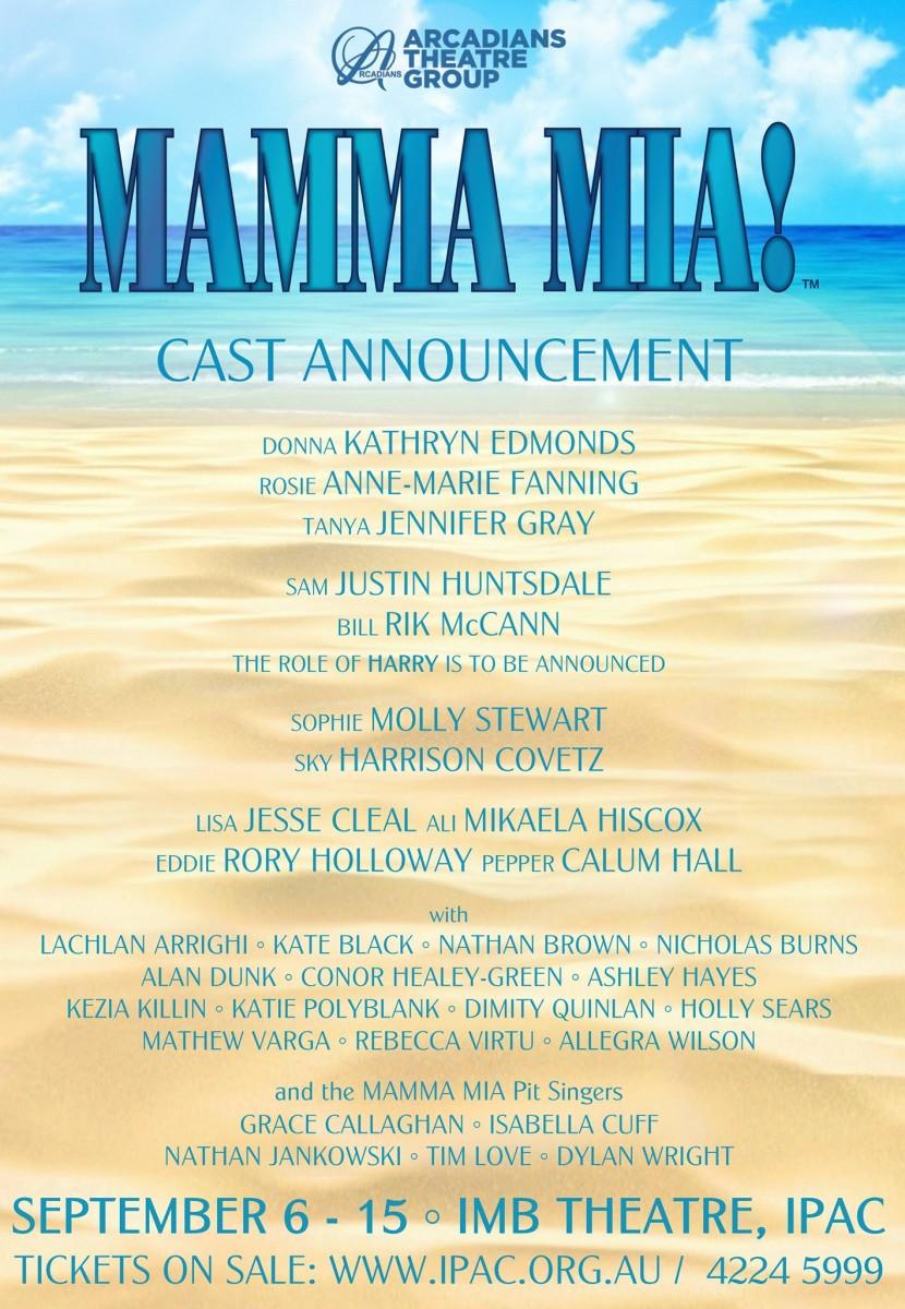 Mamma Mia Cast 1