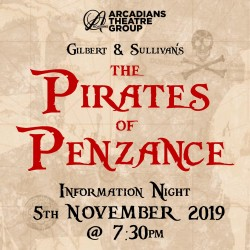 Pirates of Penzance Info Night